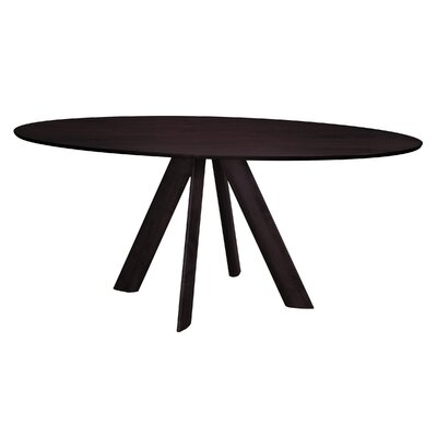 Efren Dining Table Finish: Chocolate, Size: 29 H x 36 W x 70 D