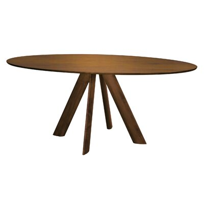 Efren Dining Table Finish: Flax, Size: 29 H x 36 W x 70 D