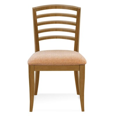 Sofian Wood Side Chair in Chambray Color: Flax
