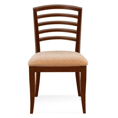Sofian Wood Side Chair in Domino Finish: Harvest