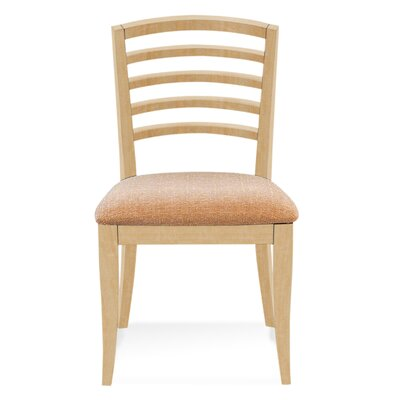 Sofian Wood Side Chair in Ramie Color: Natural