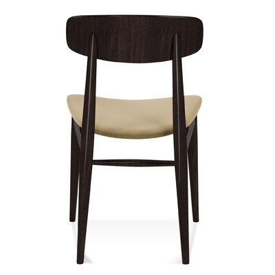 Model 100 Side Chair Finish: Rockport, Upholstery: Mushroom