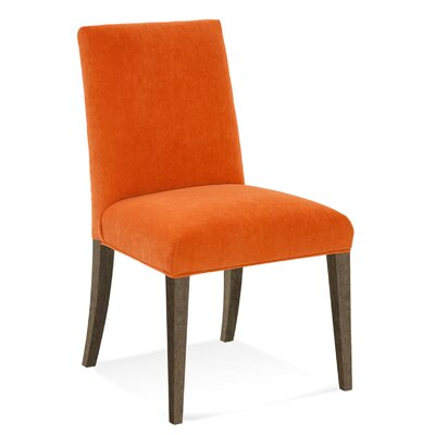 Model 102 Parsons Chair Finish: Nantucket, Upholstery: Straw