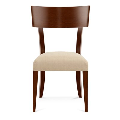Sofian Wood Side Chair in Cinder Color: Harvest