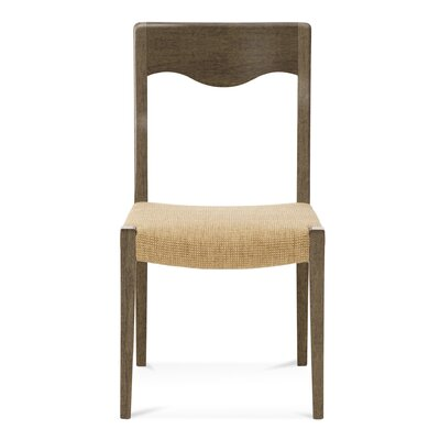 Alessandra Side Chair Finish: Nantucket, Upholstery: Linen