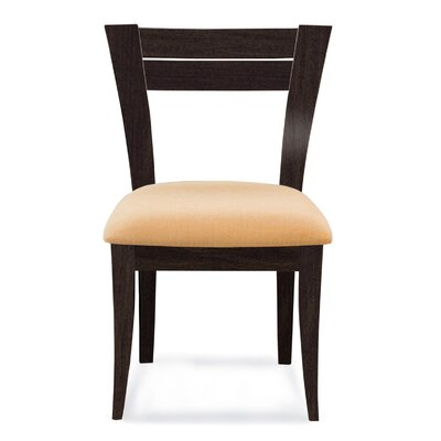 Bence Side Chair Finish: Rockport, Upholstery: Linen