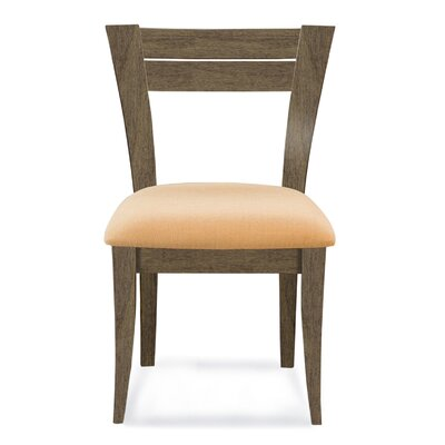 Bence Side Chair Finish: Nantucket, Upholstery: Linen