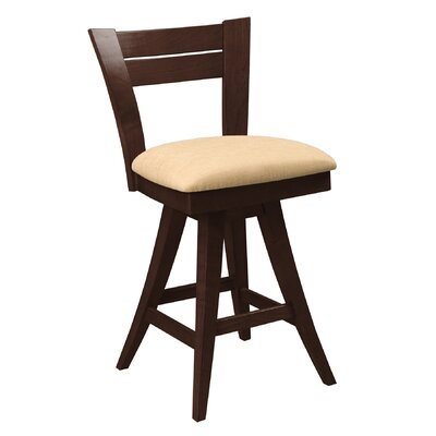 New England Swivel Bar Stool