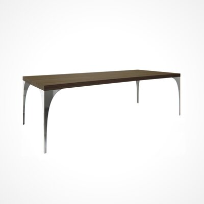 Neema Wood Top Dining Table Top Finish: NB-Nantucket, Size: 29.5