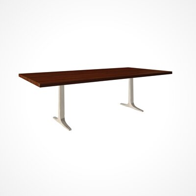 Darbonne Wood Top Dining Table Top Finish: Java, Size: 29 H x 42 W x 80 D