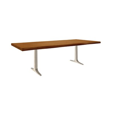 Darbonne Dining Table Top Finish: Walnut, Size: 29 H x 42 W x 96 D