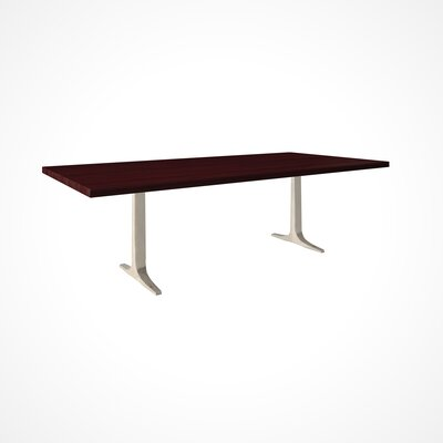 Darbonne Wood Top Dining Table Top Finish: Chocolate, Size: 29 H x 42 W x 80 D
