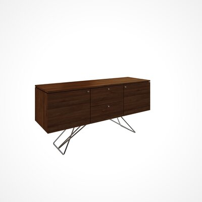 Imani 2 Door and 2 Drawer Buffet Table Color: Aurora