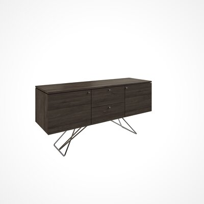 Imani 2 Door and 2 Drawer Buffet Table Color: NB-Nantucket