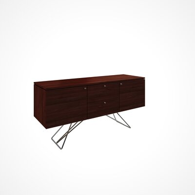 Imani 2 Door and 2 Drawer Buffet Table Color: Java