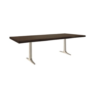 Apollo Dining Table Size: 29 inch H x 42 inch W x 80 inch D, Top Finish: NB-Nantucket