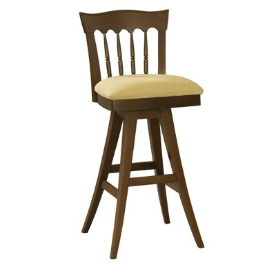 Ines 32 Swivel Wood Bar Stool
