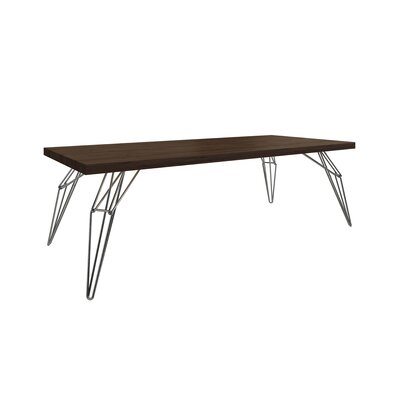 Gettys Rectangular Dining Table Top Finish: Rockport, Size: 29.5 H x 42 W x 96 D