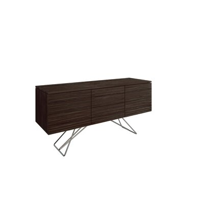 Alegra 2 Door Buffet Table Color: NB-Rockport