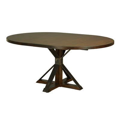 Palice Dining Table Color: Black Walnut, Size: 29 H x 60 W x 60 D