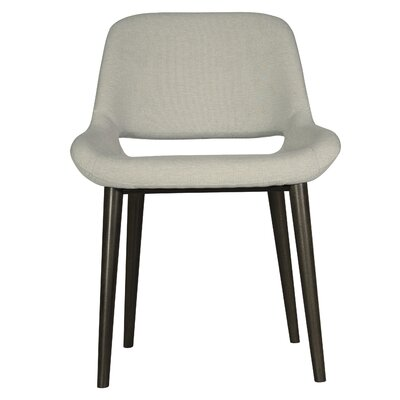 Fusco Dining Chair Upholstery Color: Oatmeal, Finish: Rockport