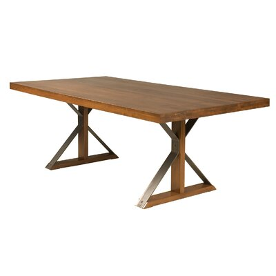 Beldale Maple Dining Table Color: Flax, Size: 29 H x 80 W x 42 D