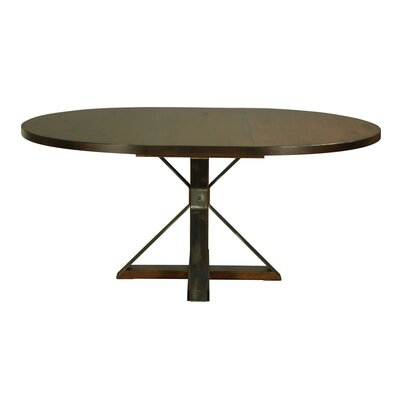 Palice Maple Dining Table Color: Chocolate, Size: 29 H x 48 W x 48 D
