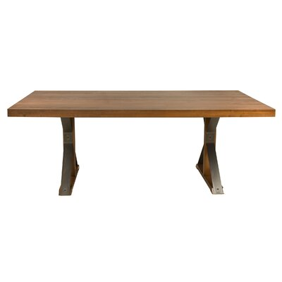 Beldale Maple Extendable Dining Table Color: Aurora, Size: 29 H x 77.5 W x 42 D