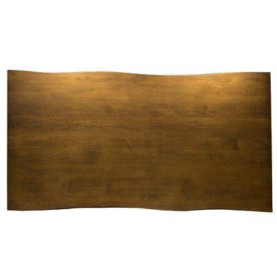 Bacher Maple Sculptured Edge Dining Table