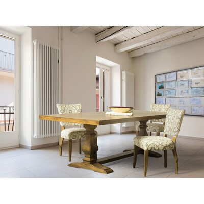 Dedrick Maple Dining Table Color: Aurora, Size: 29.75 H x 96 W x 42 D