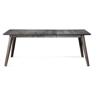 Mascher Dining Table Base Color: Shadow, Size: 42 W x 80 L