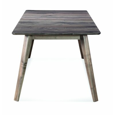 Mascher Extendable Dining Table Base Color: Shadow, Size: 36 W x 60 L