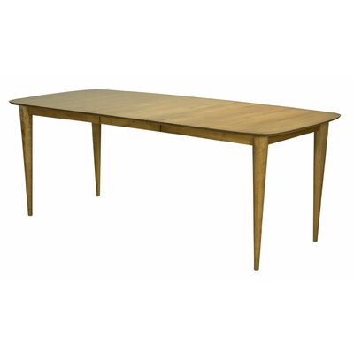Couey Extendable Dining Table Base Color: Shadow, Size: 42 W x 60 L