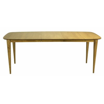 Cuellar Extendable Dining Table Base Color: Shadow, Size: 42 W x 60 L
