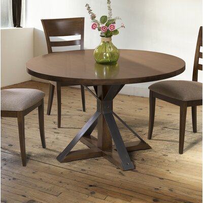 Espenson Extendable Dining Table Base Color: Shadow, Size: 60 W x 60 L
