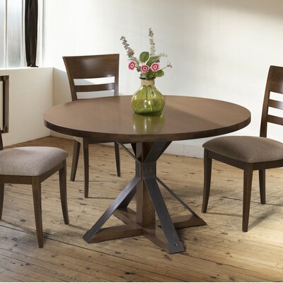Espenson Dining Table Base Color: Shadow, Size: 54 W x  54 L