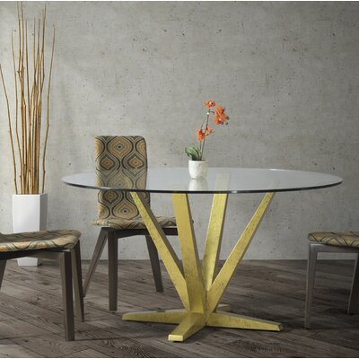 Tylor 54 Dining Table Finish: Aurora