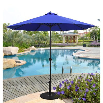 9 Market Umbrella Color: Purple/Gold