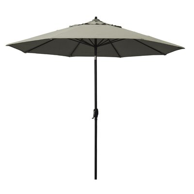 9 Market Umbrella Fabric: Taupe