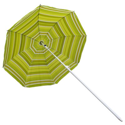 6 Beach Umbrella Fabric: Green