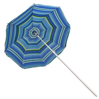 6 Beach Umbrella Fabric: Blue