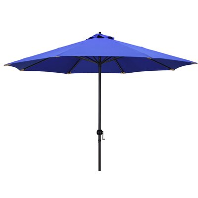 9 Market Umbrella Color: Purple/Gold