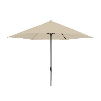 11 Market Umbrella Fabric: Antique Beige