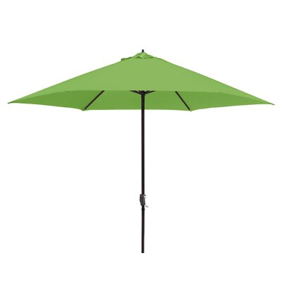 11 Market Umbrella Fabric: Lime Green