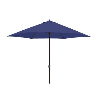 11 Market Umbrella Fabric: Navy Blue