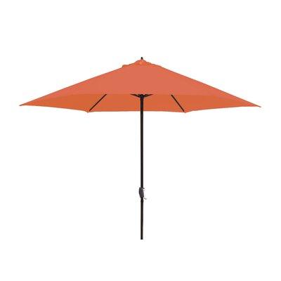 11 Market Umbrella Fabric: Tuscan Orange