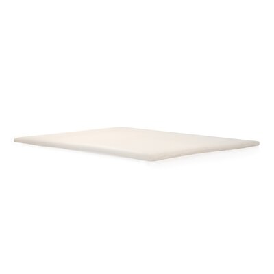 2 Memory Foam Topper Size: Twin