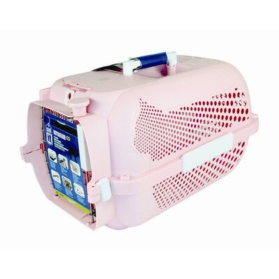 Catit Voyageur Model 100 Small Pet Carrier Color: Pink