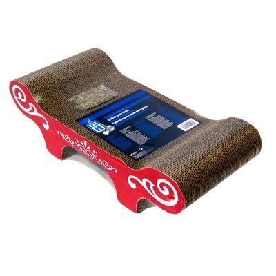 Catit Bench Cardboard Scratching Board 52416