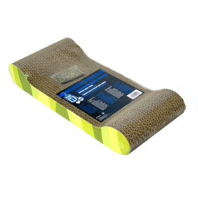 Catit Lounge Cardboard Scratching Board (Set of 2) 52417